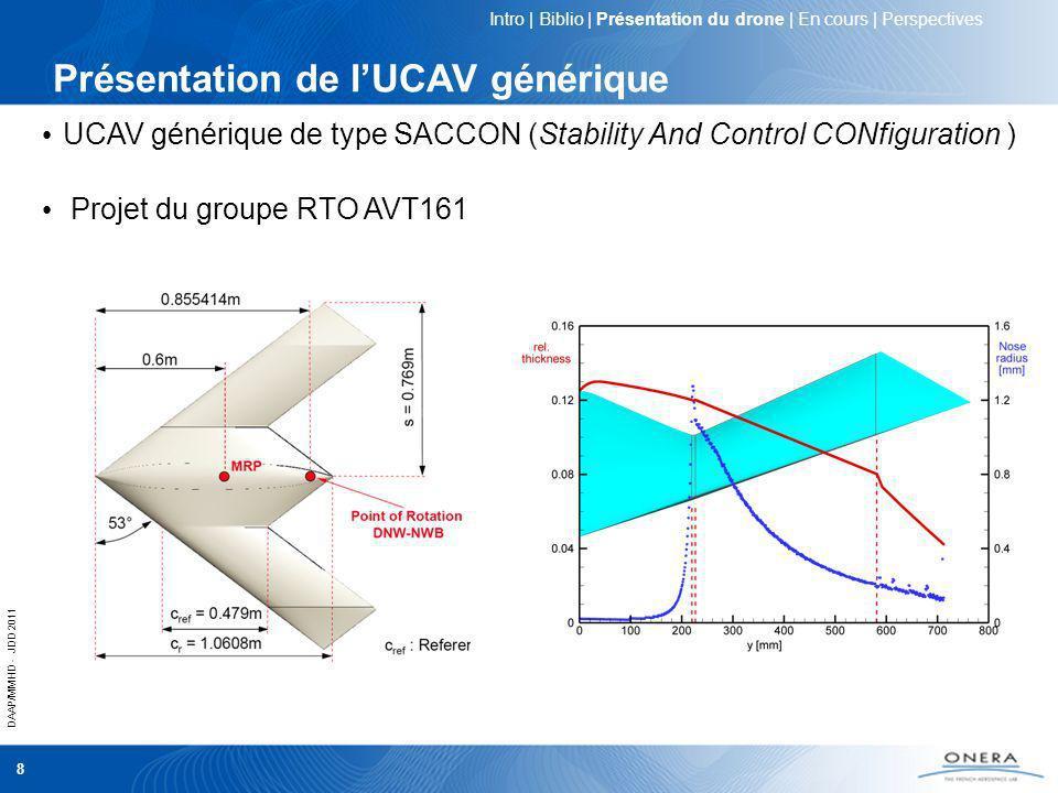 Présentation de l'UCAV générique