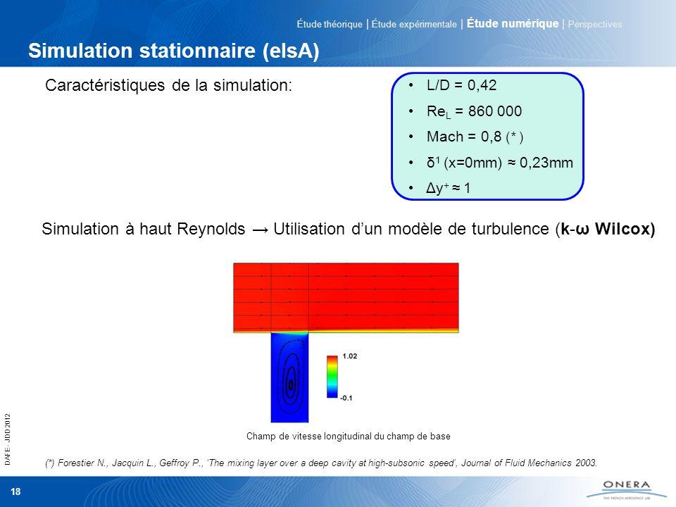Simulation stationnaire (elsA)