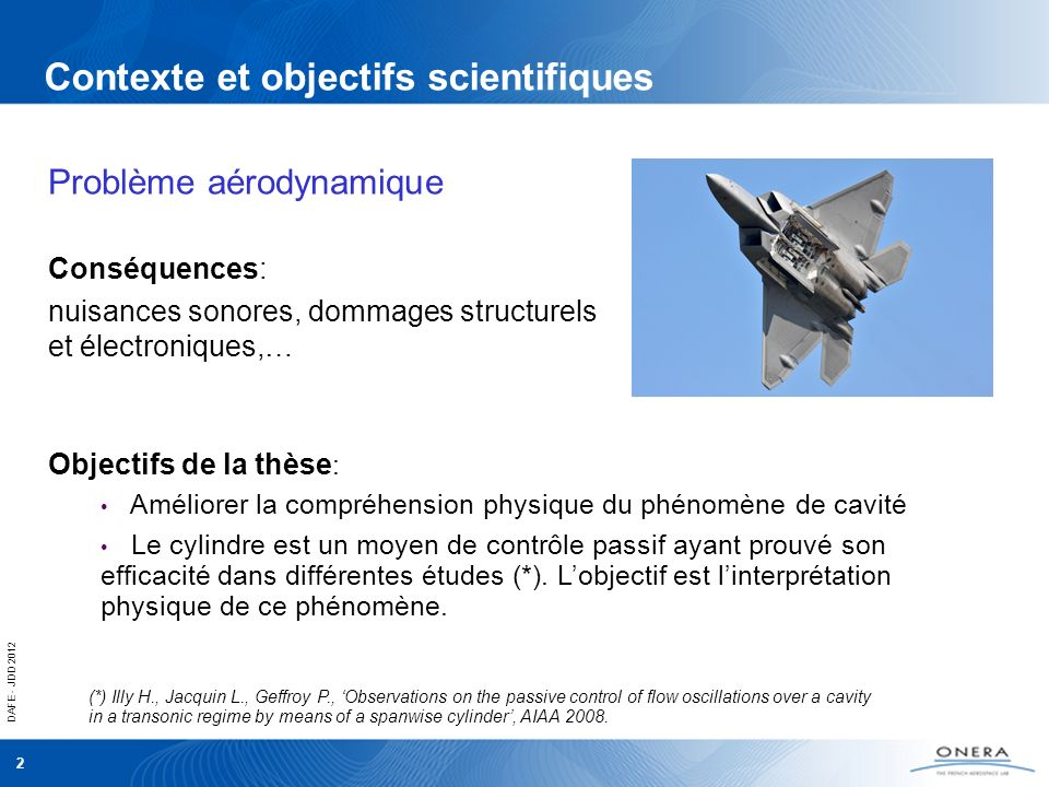 Contexte et objectifs scientifiques