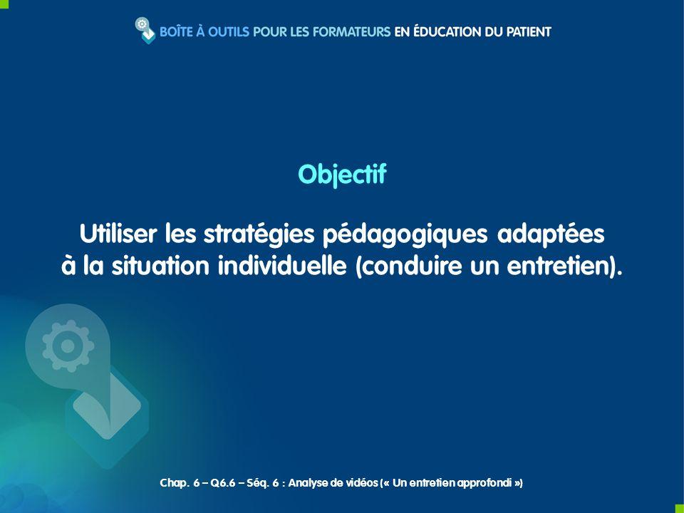 Utiliser les stratégies pédagogiques adaptées