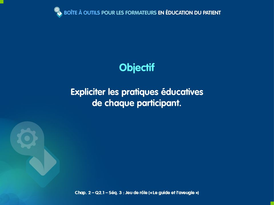 Expliciter les pratiques éducatives