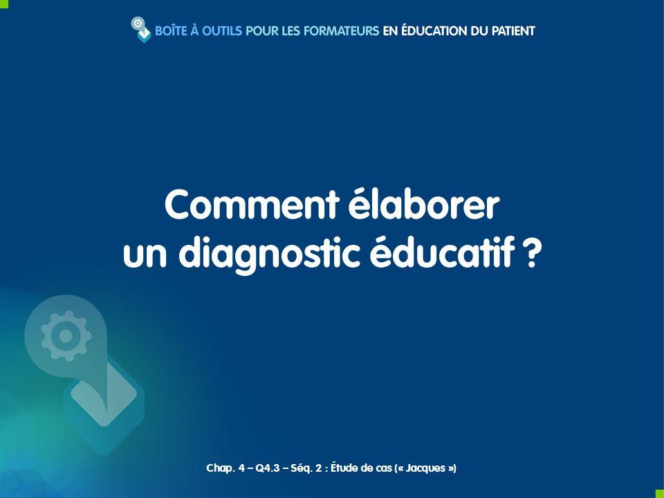 un diagnostic éducatif