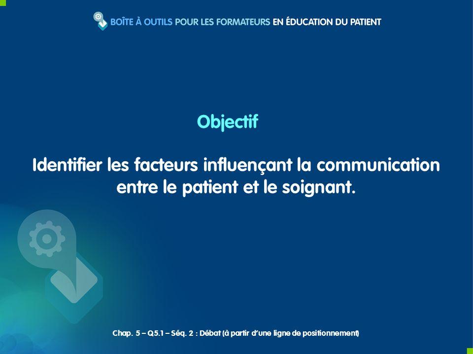 Identifier les facteurs influençant la communication