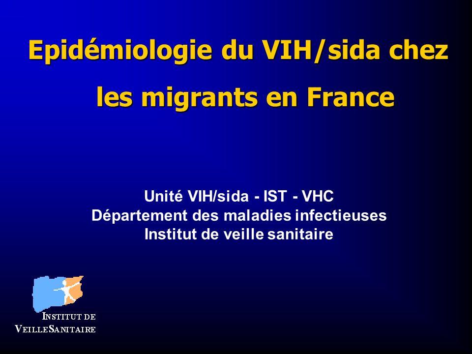 Epidémiologie du VIH/sida chez les migrants en France
