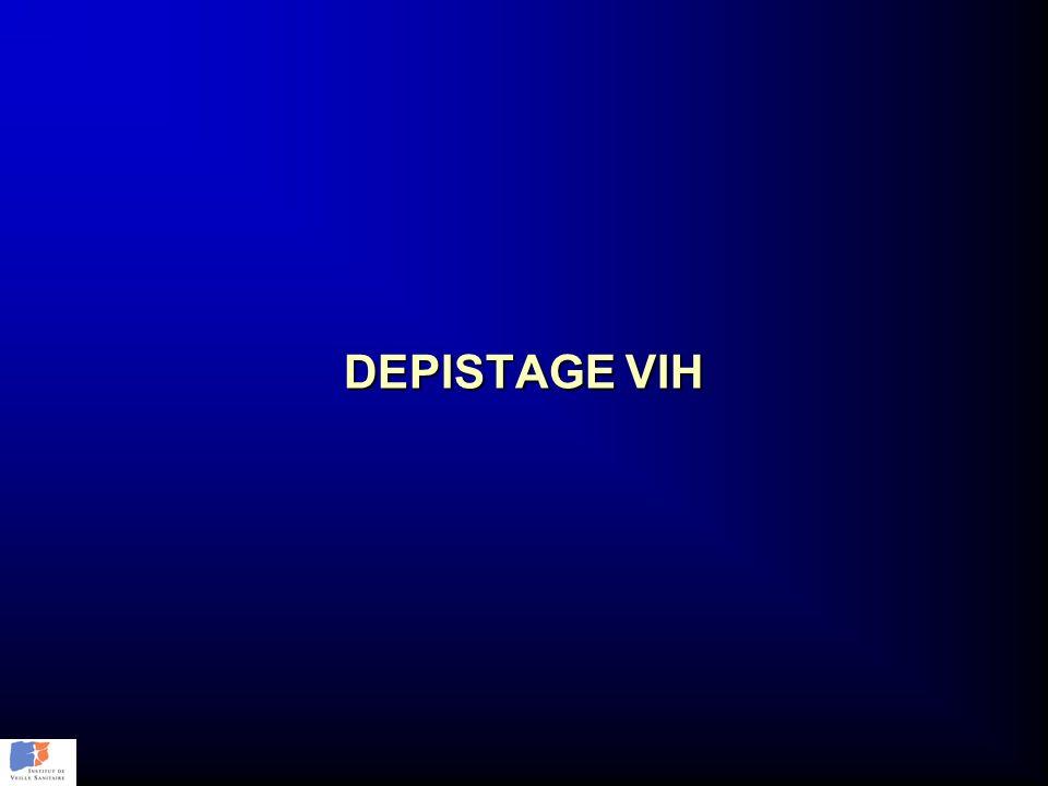 DEPISTAGE VIH