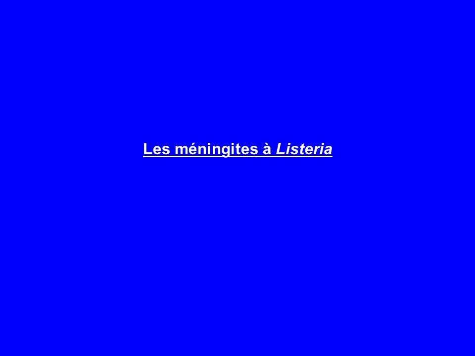 Les méningites à Listeria