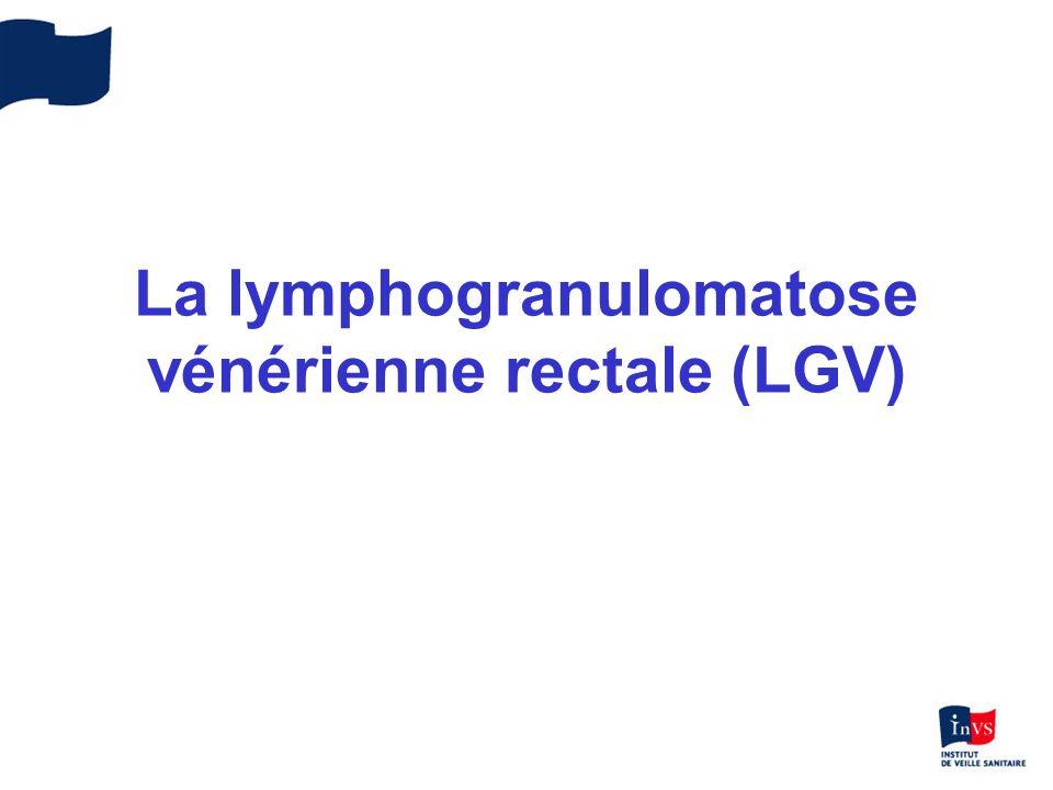 La lymphogranulomatose vénérienne rectale (LGV)