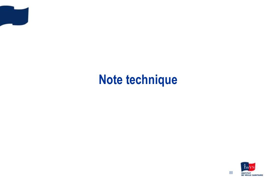 Note technique