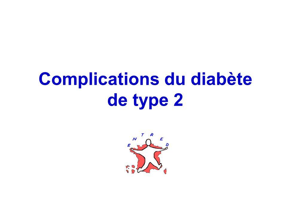 Complications du diabète de type 2