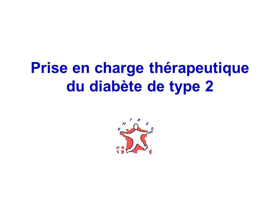Prise en charge thérapeutique du diabète de type 2