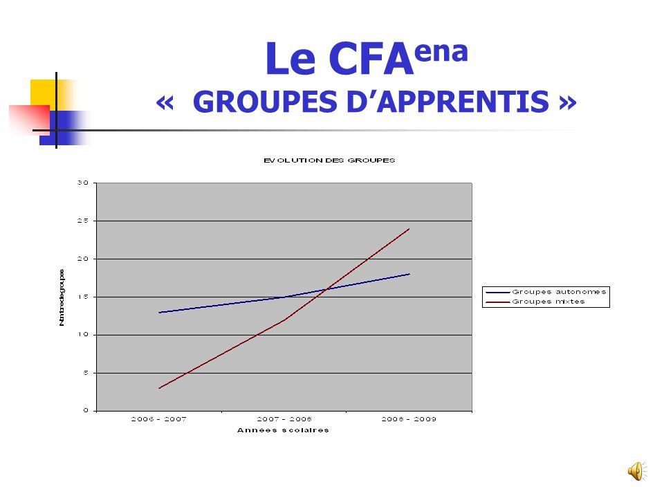 Le CFAena « GROUPES D'APPRENTIS »