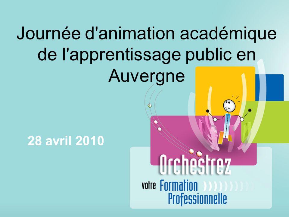 Journée d animation académique de l apprentissage public en Auvergne