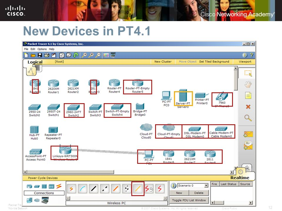 New Devices in PT4.1 Slide 12 – New Devices in PT4.1