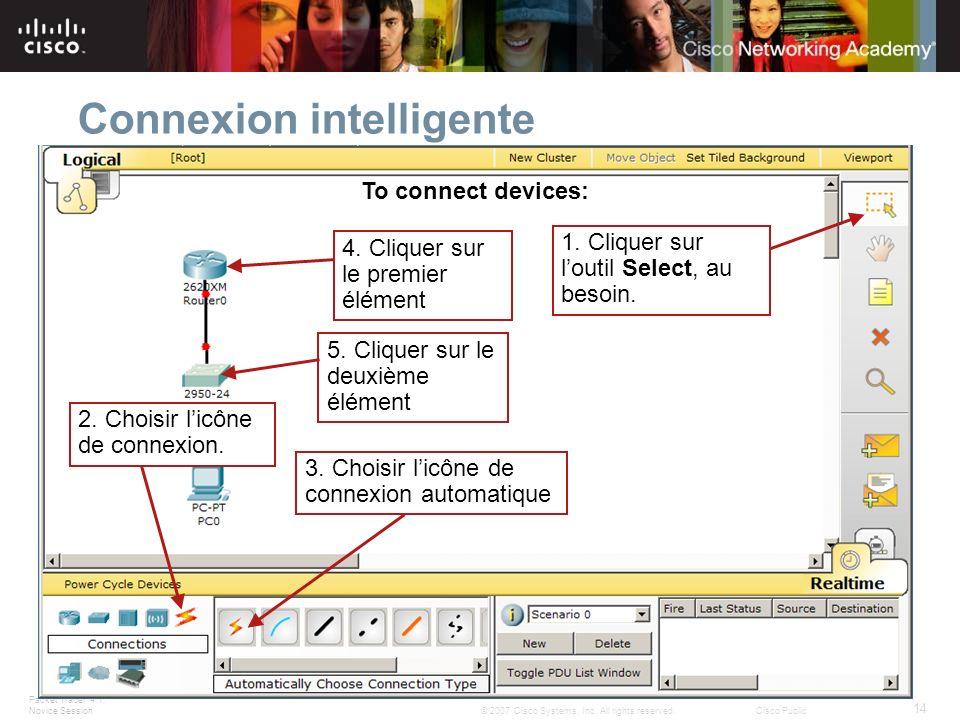 Connexion intelligente