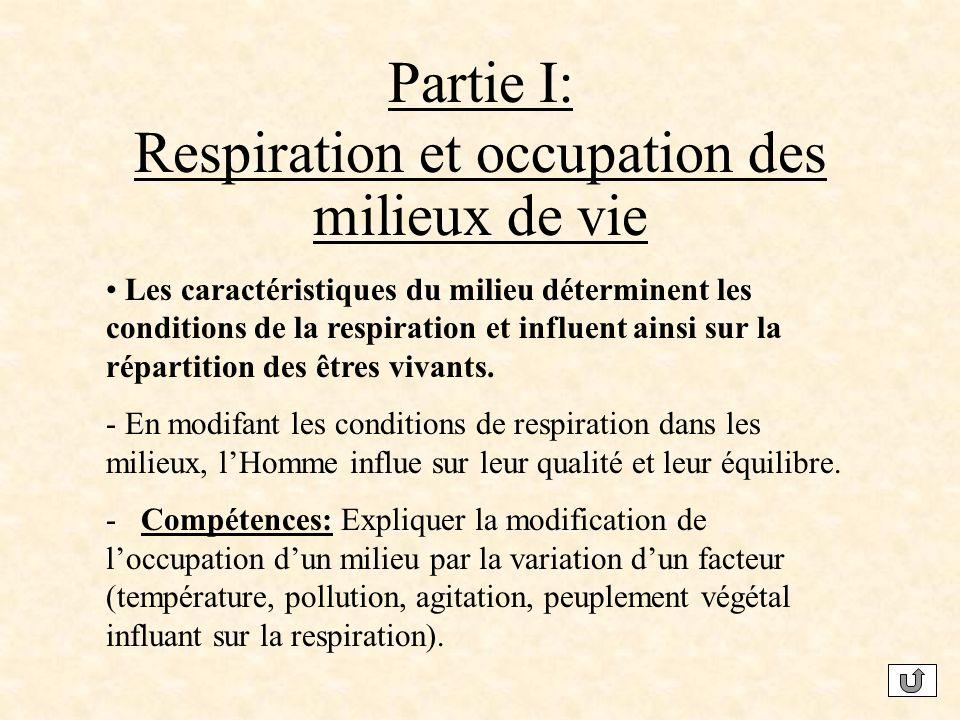 Respiration et occupation des