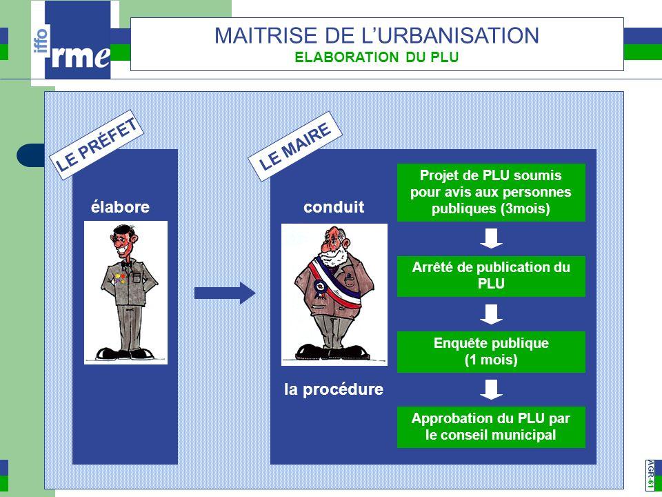 Projet de PLU soumis pour avis aux personnes publiques (3mois)
