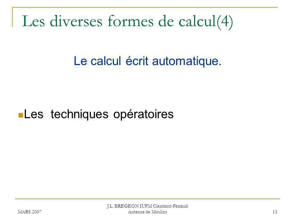Les diverses formes de calcul(4)