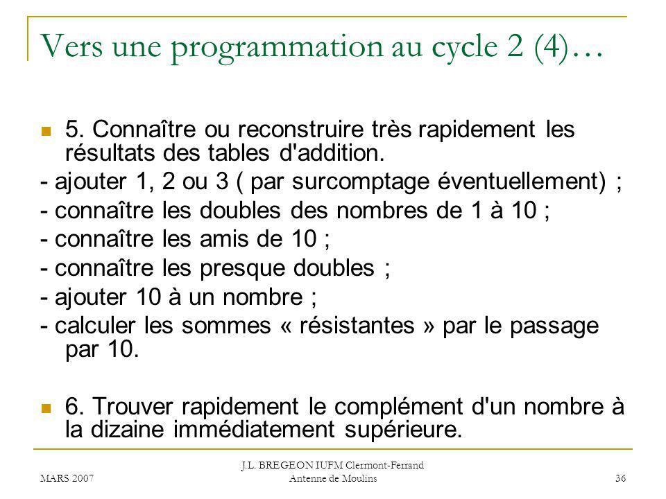 Vers une programmation au cycle 2 (4)…