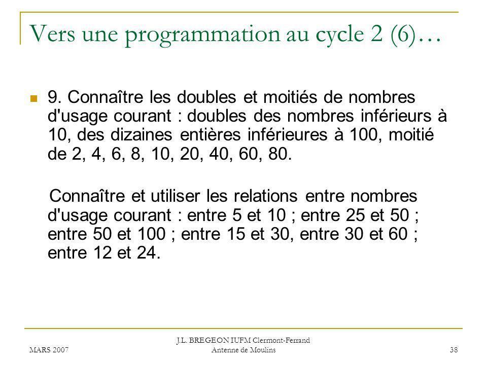 Vers une programmation au cycle 2 (6)…