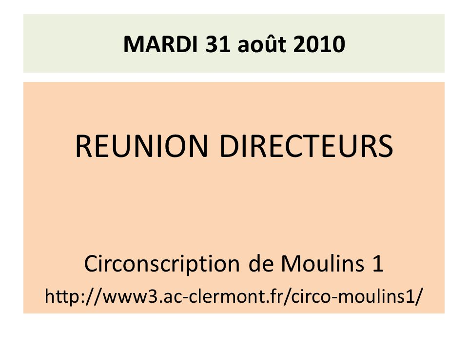 Circonscription de Moulins 1