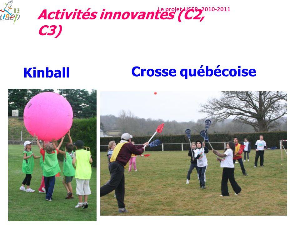 Kinball Crosse québécoise Activités innovantes (C2, C3)