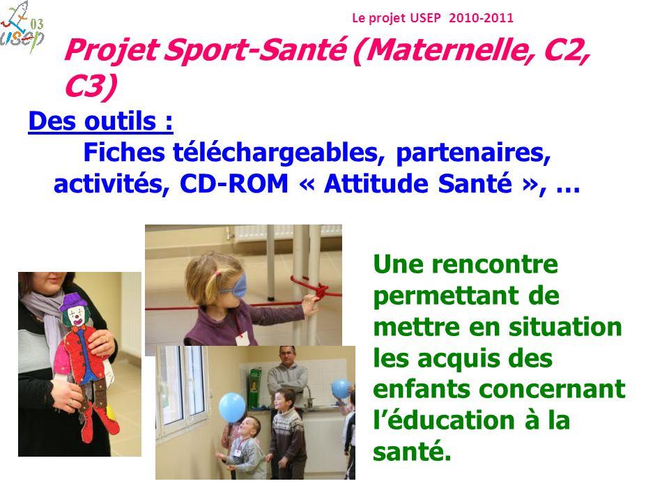 Projet Sport-Santé (Maternelle, C2, C3)