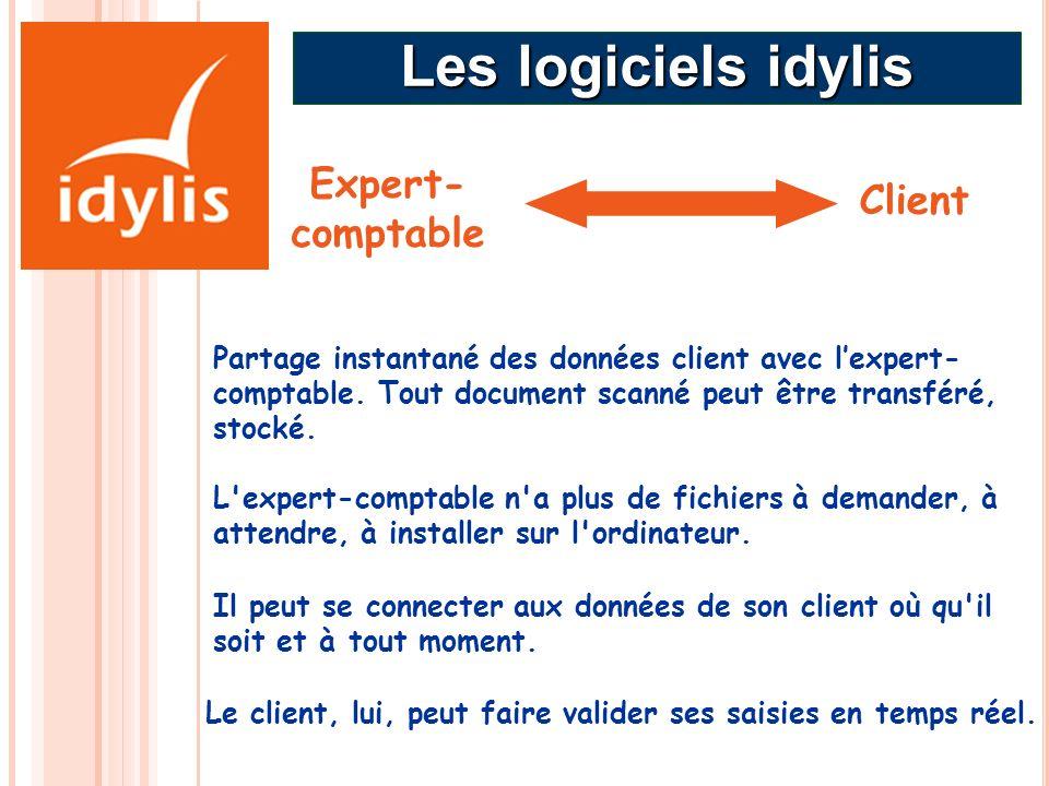 Les logiciels idylis Expert-comptable Client