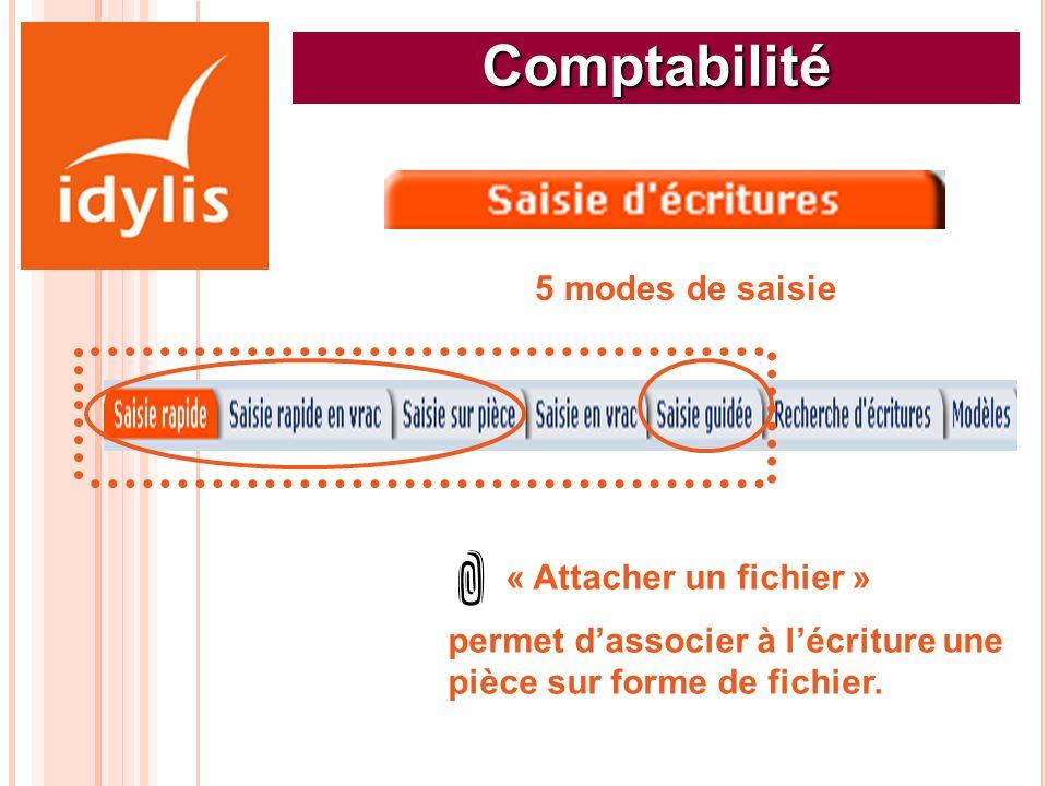 Comptabilité 5 modes de saisie « Attacher un fichier »