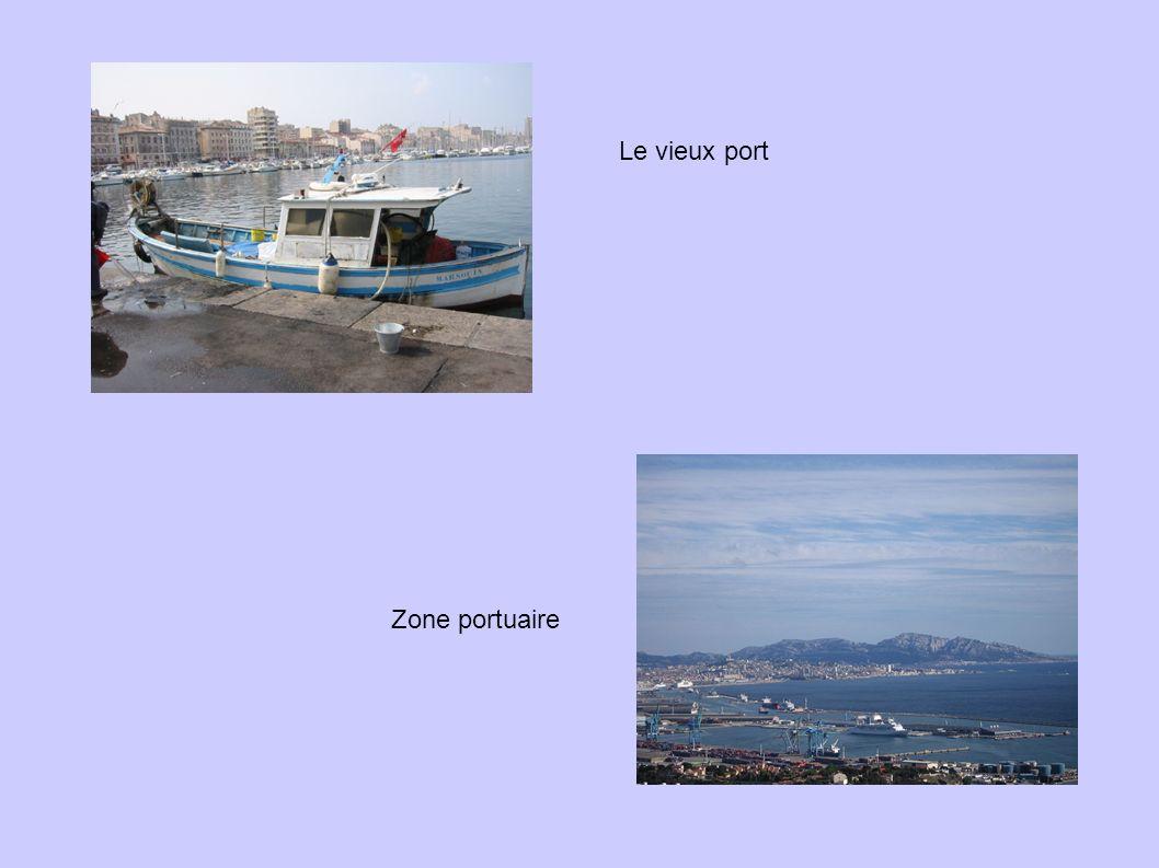 Le vieux port Zone portuaire