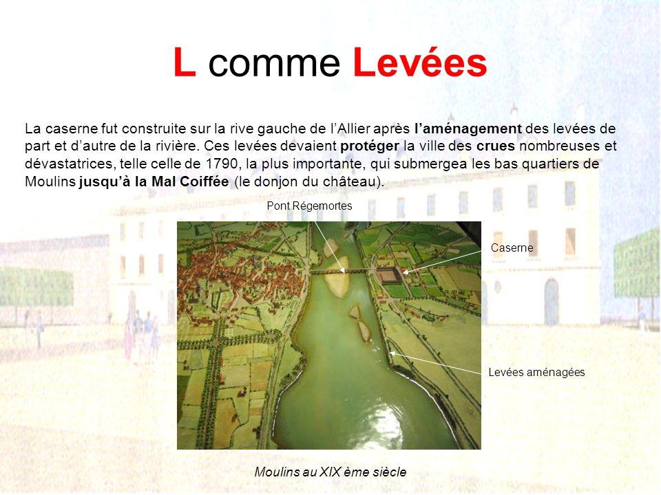 Moulins au XIX ème siècle
