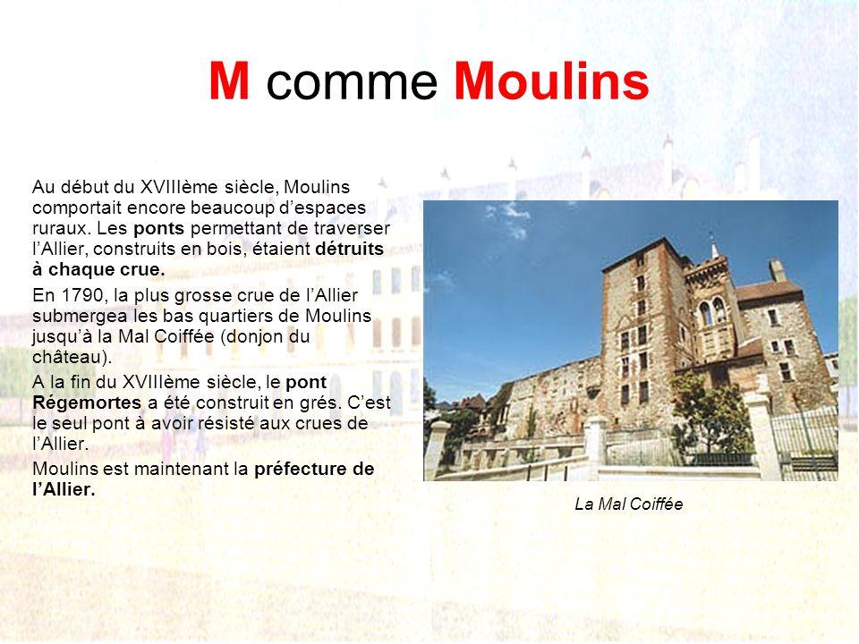 M comme Moulins