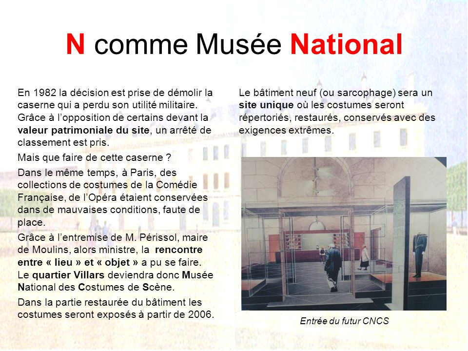 N comme Musée National