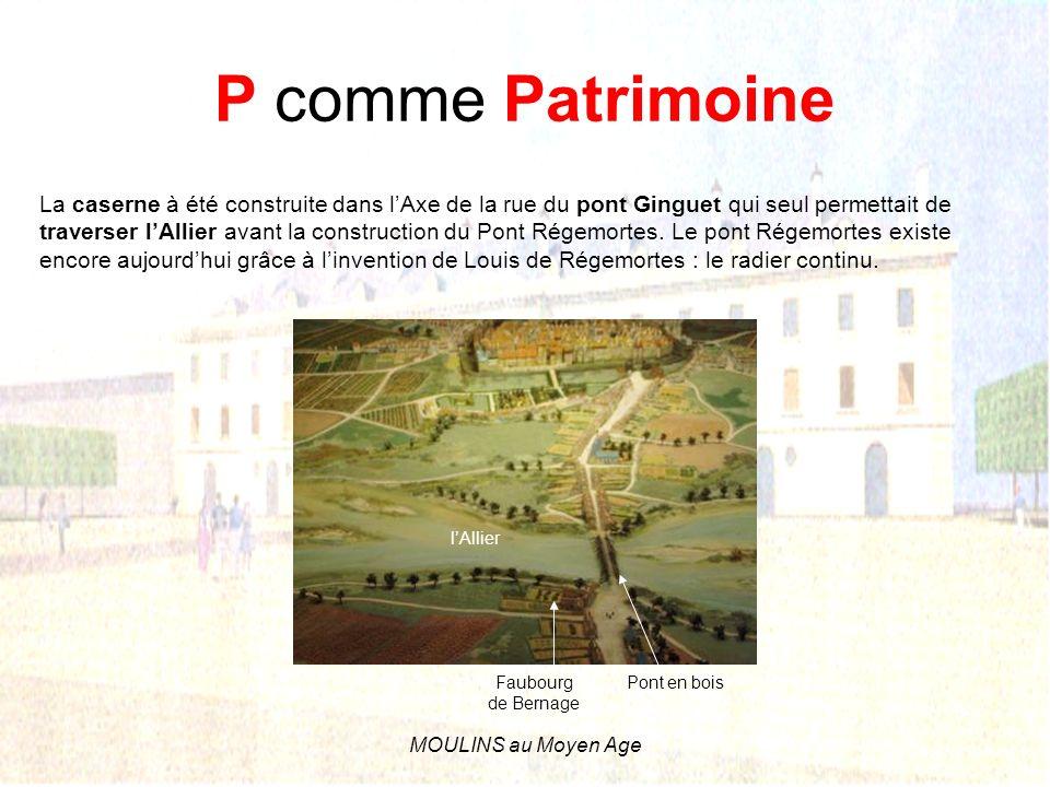 P comme Patrimoine