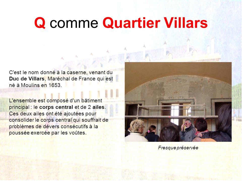Q comme Quartier Villars