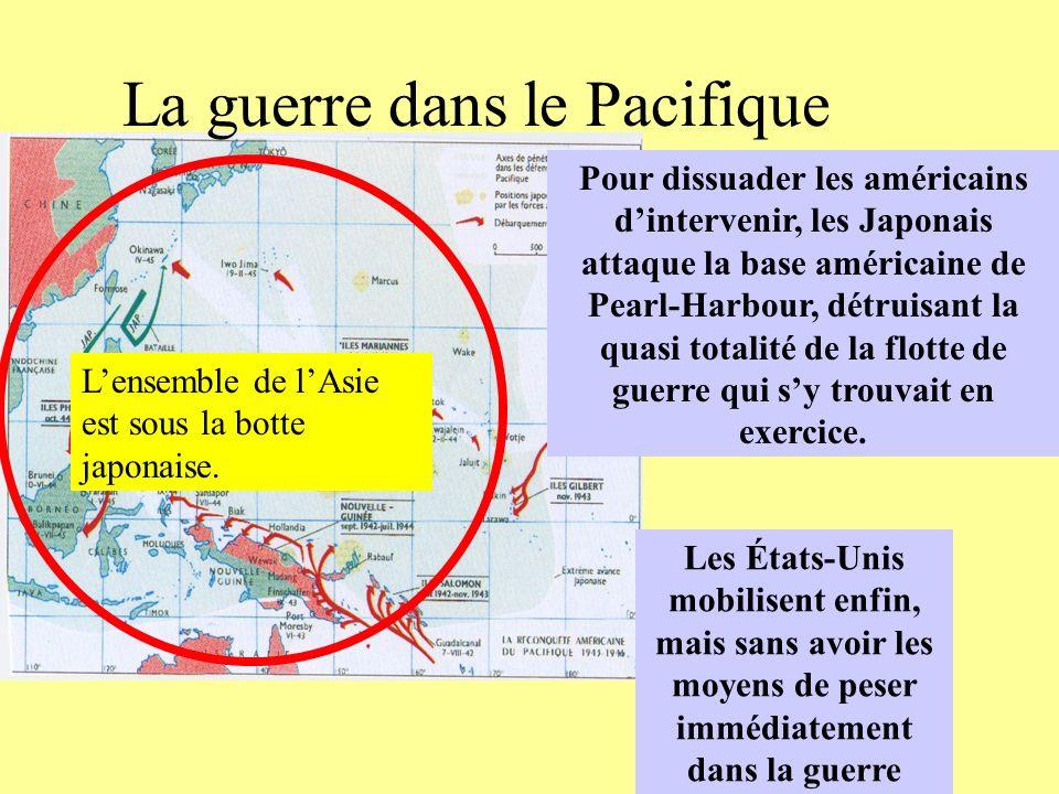 La guerre dans le Pacifique