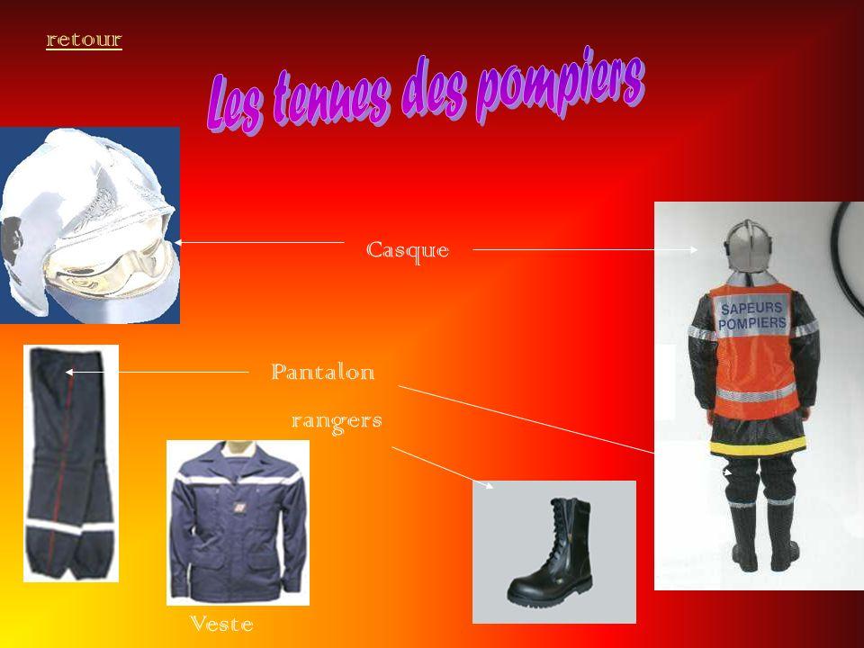 Les tenues des pompiers