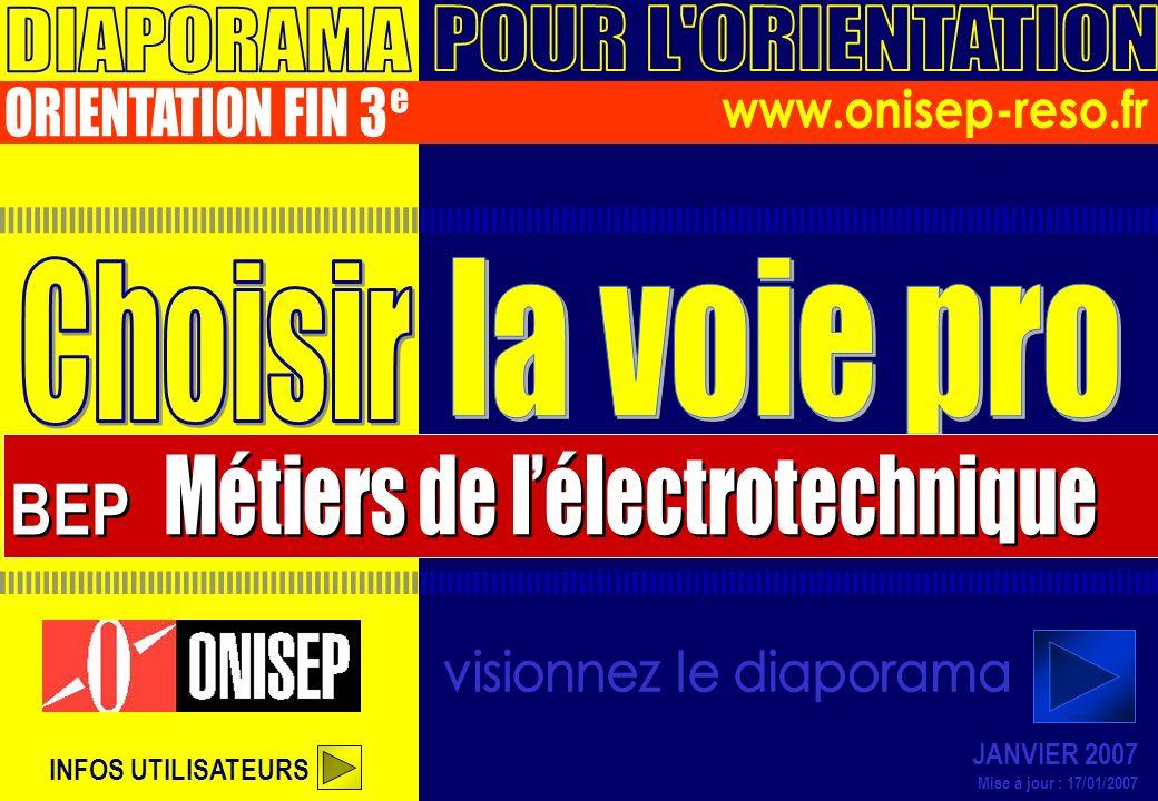 BEP DIAPORAMA POUR L ORIENTATION ORIENTATION FIN 3 e