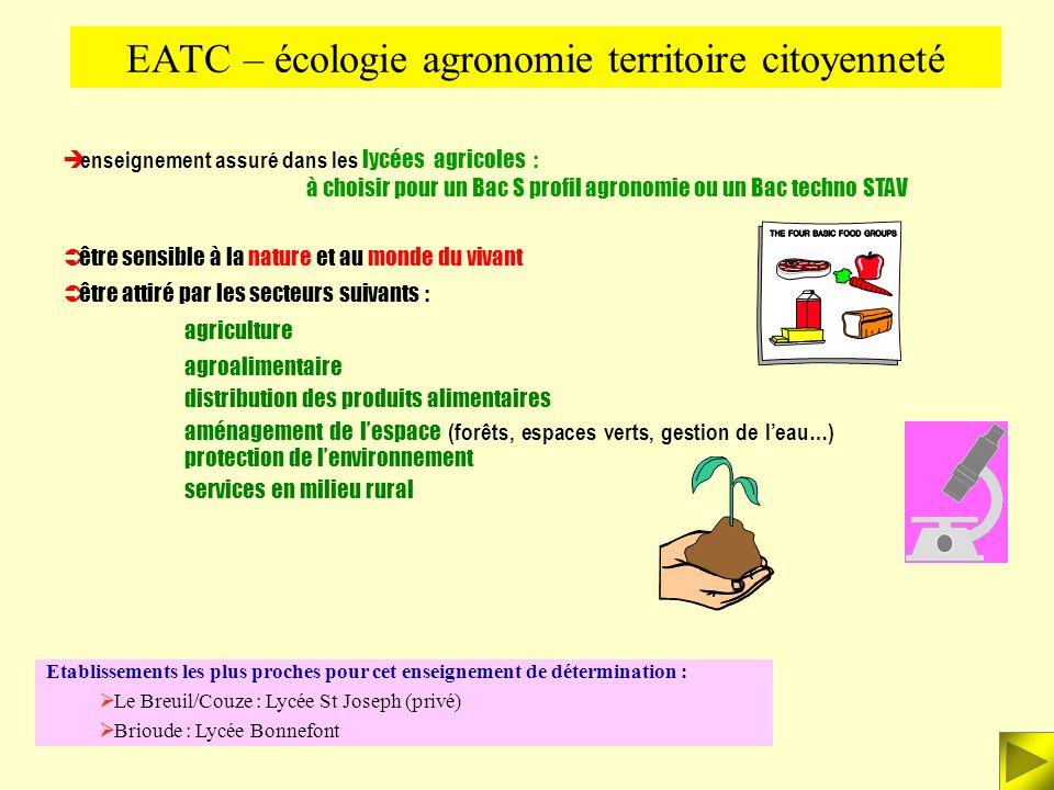 EATC – écologie agronomie territoire citoyenneté