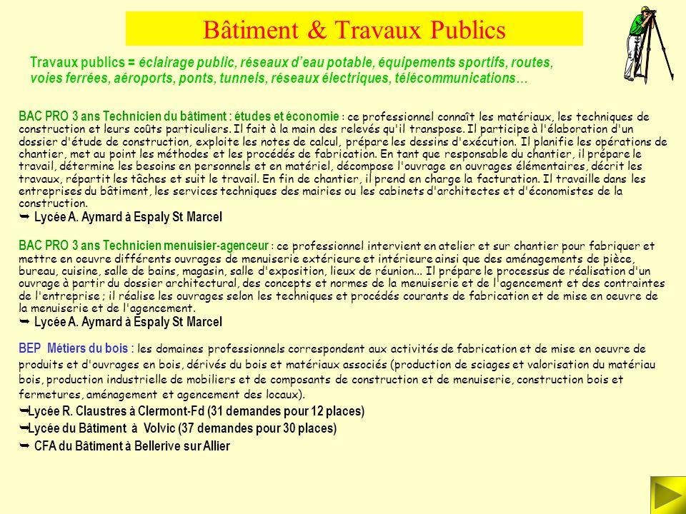Bâtiment & Travaux Publics