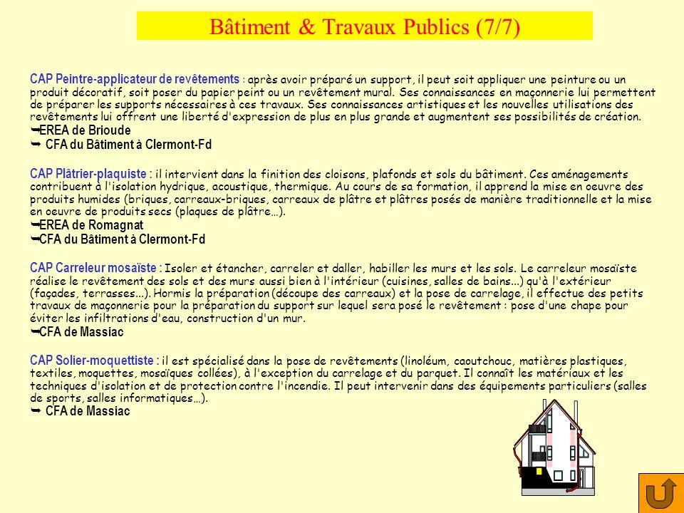 Bâtiment & Travaux Publics (7/7)
