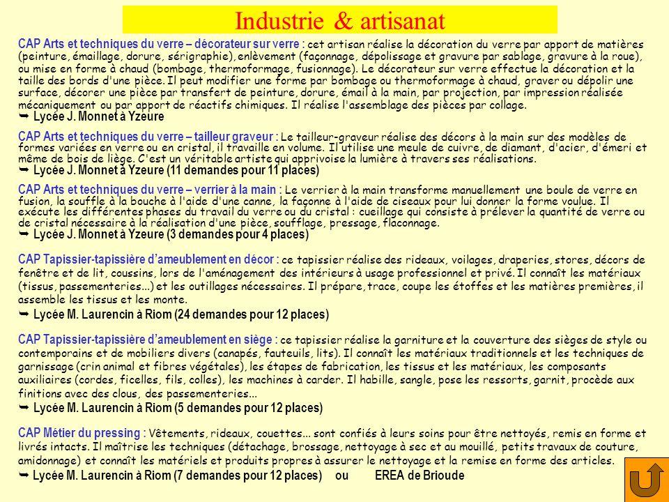 Industrie & artisanat