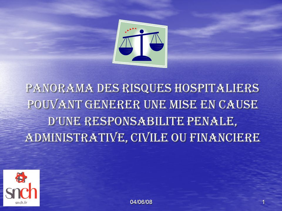 POUVANT GENERER UNE MISE EN CAUSE D'UNE RESPONSABILITE PENALE,