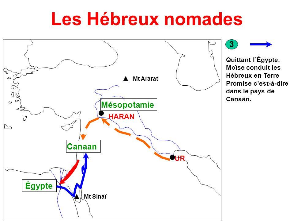 Les Hébreux nomades 3 Mésopotamie Canaan Égypte HARAN UR
