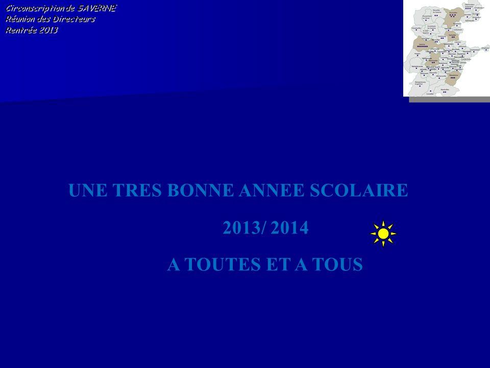 UNE TRES BONNE ANNEE SCOLAIRE