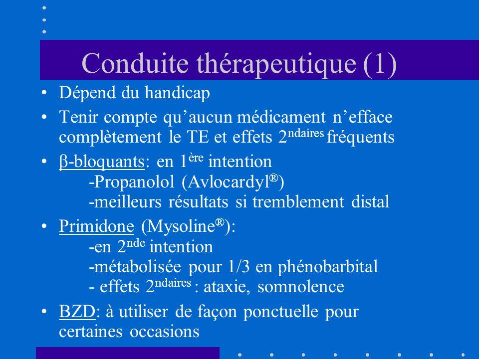 Conduite thérapeutique (1)