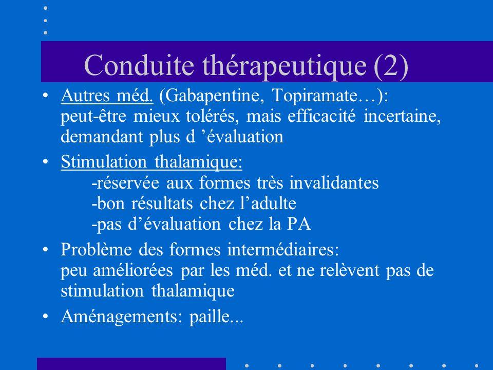 Conduite thérapeutique (2)