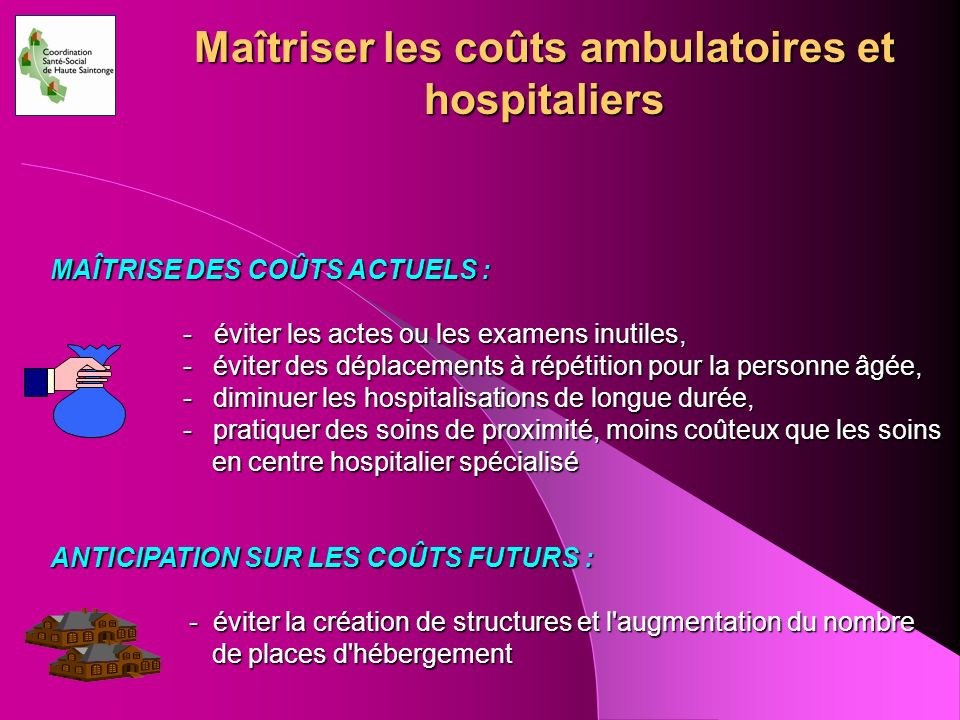 Maîtriser les coûts ambulatoires et hospitaliers