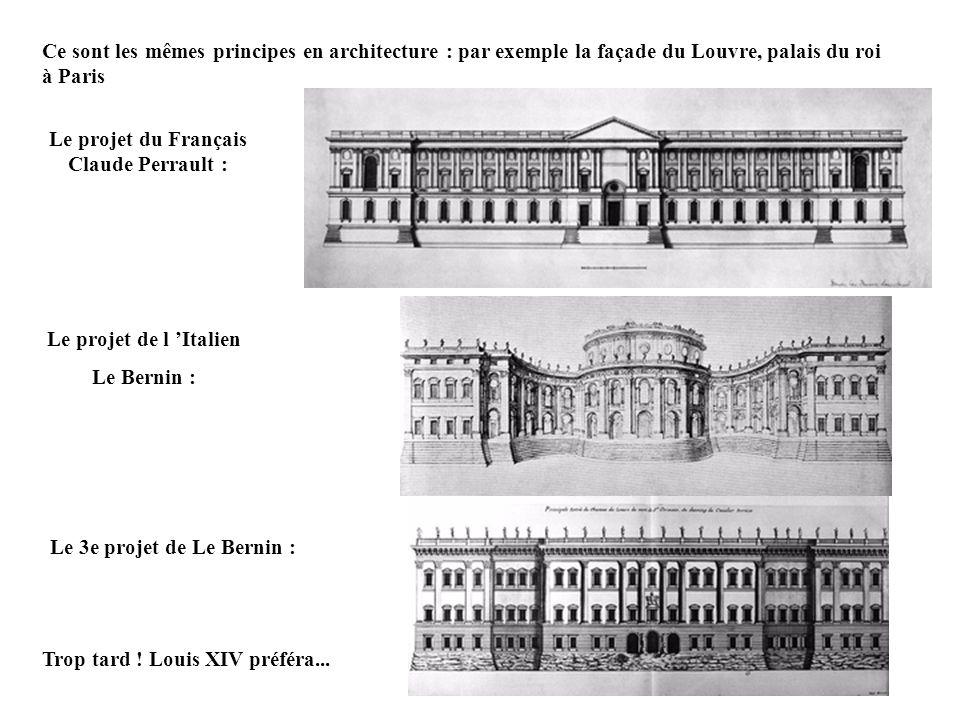 Le projet du Français Claude Perrault :
