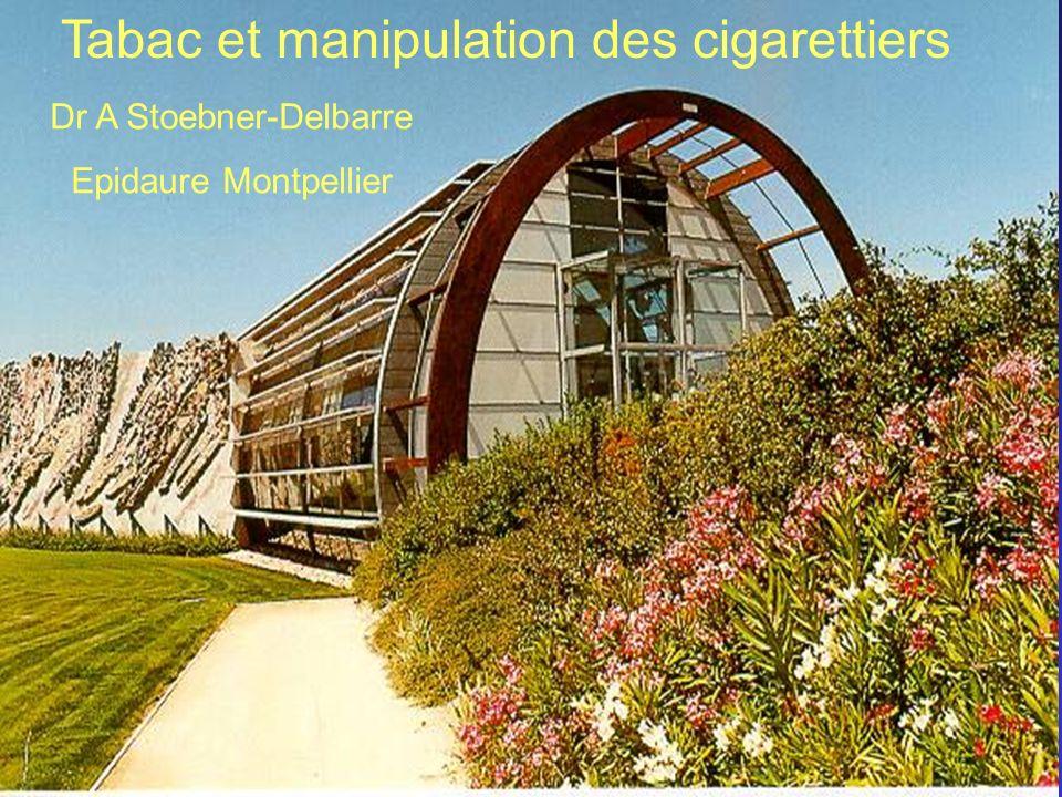 Tabac et manipulation des cigarettiers