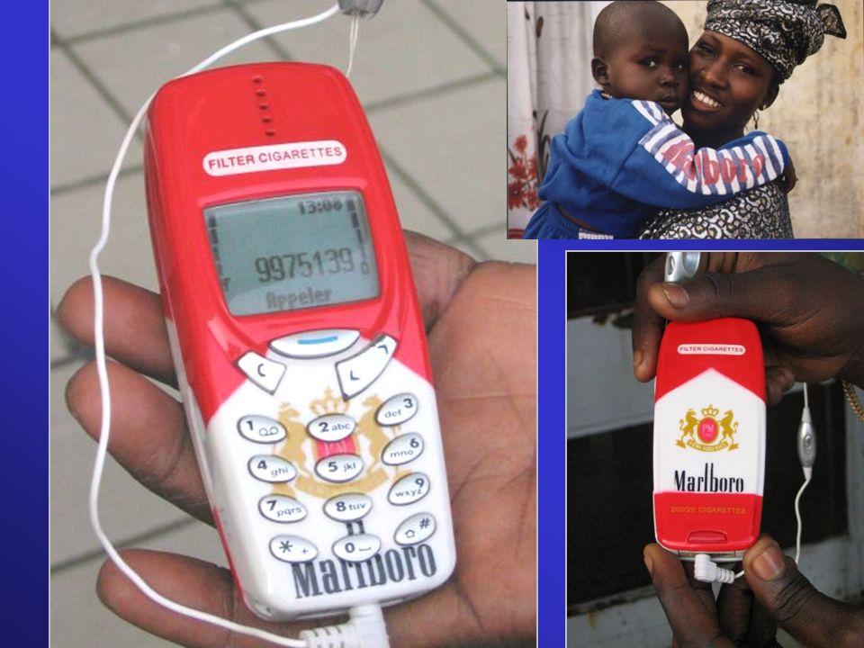 Ici un téléphone photographié à l'aéroport de Dakar au Sénégal